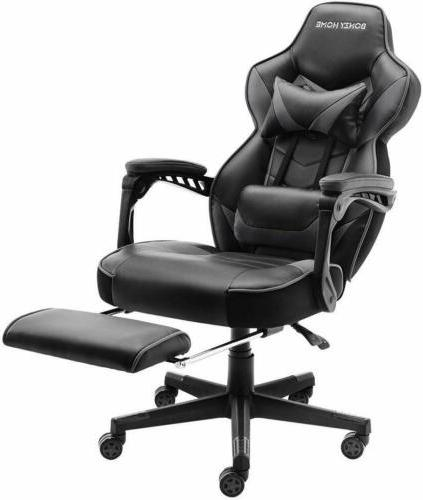 GAMING RACING LEATHER HIGH BACK OFFICE SEAT
