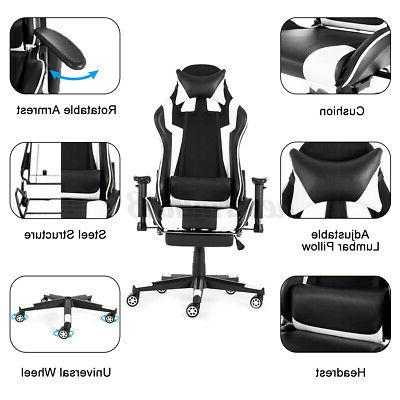 Gaming Chairs High Executive Swivel Racing Recliner Chair