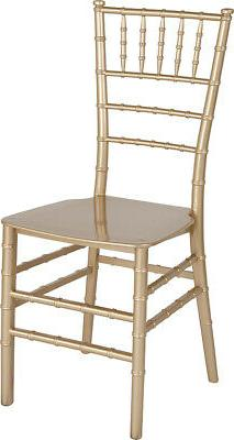 Gold Stackable Resin Chiavari Chair - Hospitality and Event