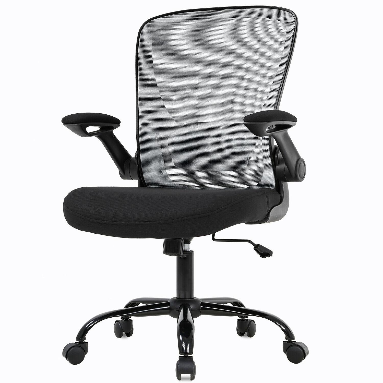 Home Office Chair Arms Swivel