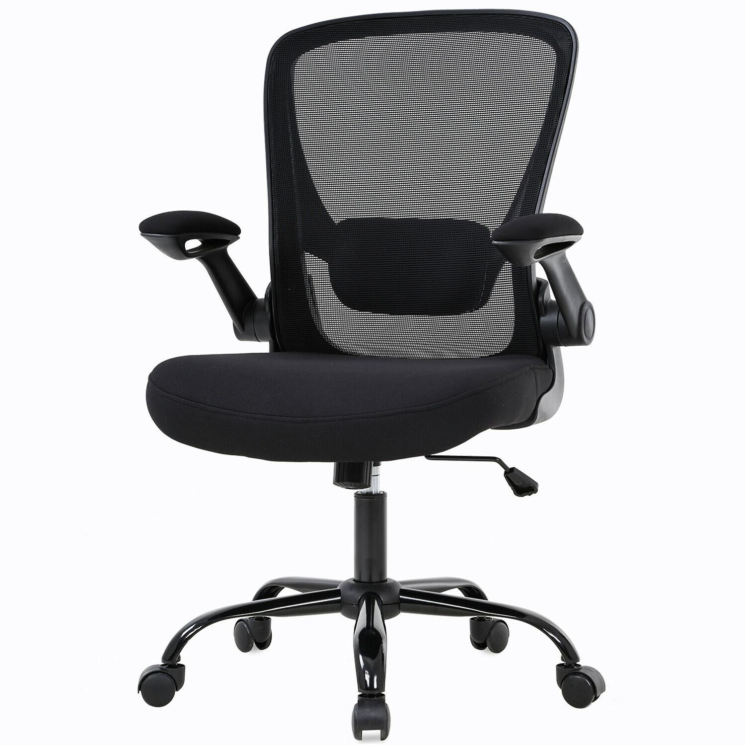 home office chair mid back adjustable