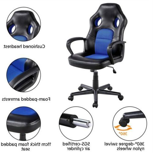 Leather Chair Ergonomic Swivel Chair Gaming