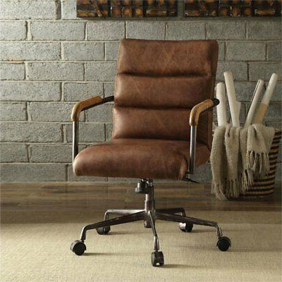 Bowery Office Chair in Retro Brown