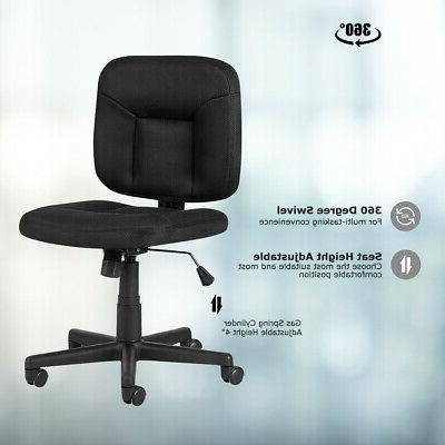 Mesh Computer Back Chair Armless Home