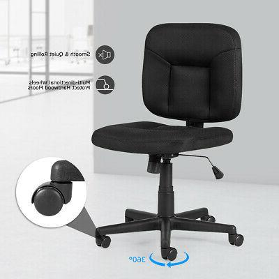 Mesh Back Task Armless Home Office