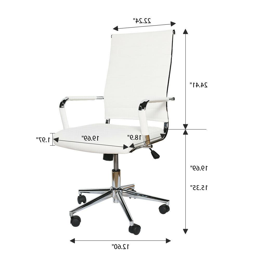 Modern Desk Office Chair Chairs Padded
