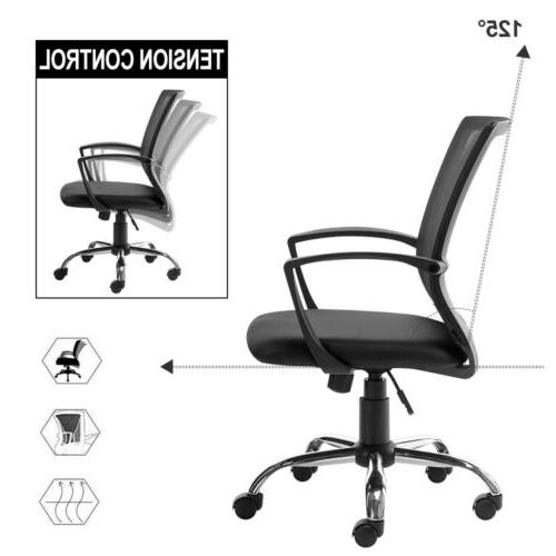 Office Chair Computer Chair Adjustable Mesh