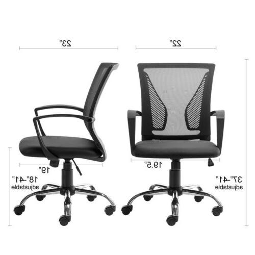 Office Chair Computer Desk Task Chair Adjustable