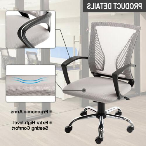 Office Chair Executive Computer Chair Adjustable Swivel Mesh