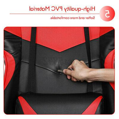 Office Gaming 150° Recliner Racing High Chair
