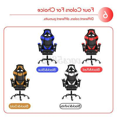 Office Gaming Chairs Recliner Back Swivel Chair