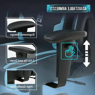 PC Gaming and 400lb Wide Ergonomic Racing Chair