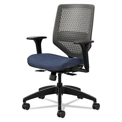 ReActiv Back Task Chair, Midnight/Charcoal