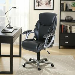 Serta Manager's Bonded Leather Office Chair Black ,Grey or B