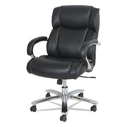 Alera Maxxis Series Big and Tall Leather Chair Black Support