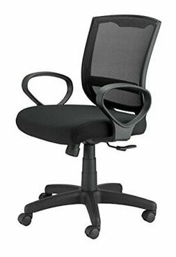 Eurotech Seating Maze MT3000-BLK Fabric Task Chair, Black