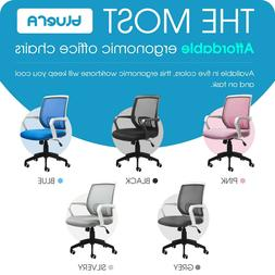 Mid-Back Mesh Ergonomic Office Chair Home Desk Executive Swi