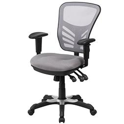 Mid-Back Mesh Office Chair, Gray
