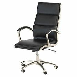 Bush Business Furniture Modelo High Back Leather Executive O