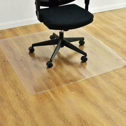 """New 48"""" x 48 """" PVC Office Chair Floor Mat Home Protector For"""