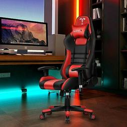 Office Chair Ergonomic Home Desk Seating Gaming Leather High