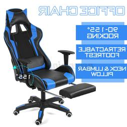 Office Chair Ergonomic Recline Gaming Chair Racing Computer