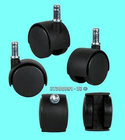 """Office Chair Parts Replacement Casters 2"""" Swivel - 131"""