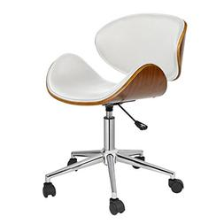 Office Chairs Without Arms Task Computer Teens White Retro D
