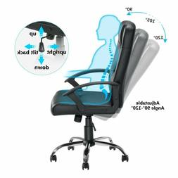 Office Computer Desk Chair PU Leather Swivel Home Adjustable