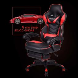 Office Gaming Chair Racing Ergonomic PU Leather High Back Co