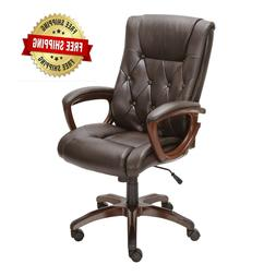 Office Rolling Computer Chair High Back Executive Desk Bonde