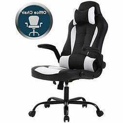 PC Gaming Chair Ergonomic Office Desk With Lumbar Support Fl