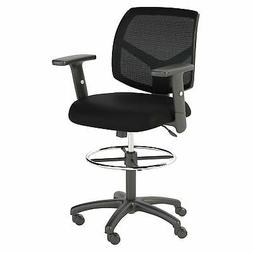 Bush Business Furniture Petite Mesh Back Drafting Chair with