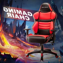 Racing Gaming Office Chair Computer Desk Swivel Recliner Cha