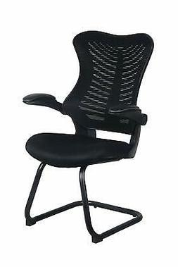 Office Factor Reception Guest Chairs with Flip Up Arms – C