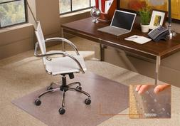 ES Robbins Rectangle Vinyl Chair Mat for Extra-High Pile Car