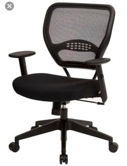 Professional Managers Chair with Air Grid Back and Fabric Se