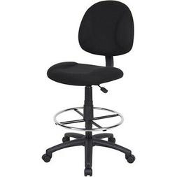 Tall Office Chair Drafting Stool Adjustable Height Seat Swiv