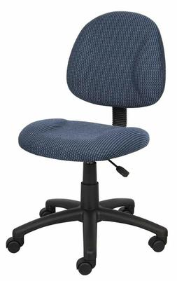 Task Chair Without Arms Office Computer Seat Swivel Padded A