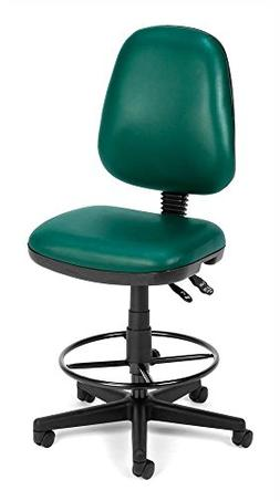 OFM Vinyl Posture Task Chair with Drafting Kit