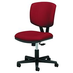 HON Volt Task Chair - Armless Office Chair for Computer Desk