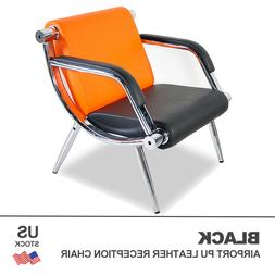 Waiting Room Office Chair Reception PU Leather Airport Guest
